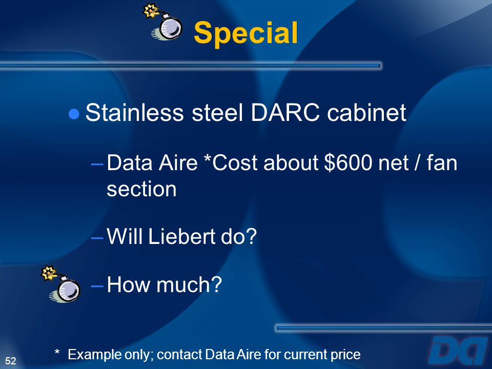 Special Stainless steel DARC cabinet