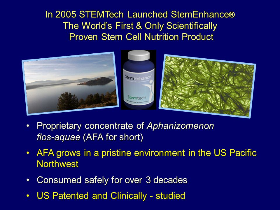 In 2005 STEMTech Launched StemEnhance®