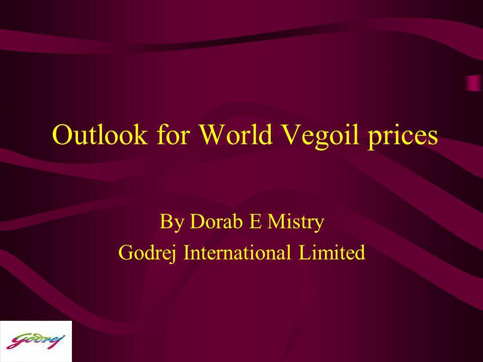 Outlook for World Vegoil prices