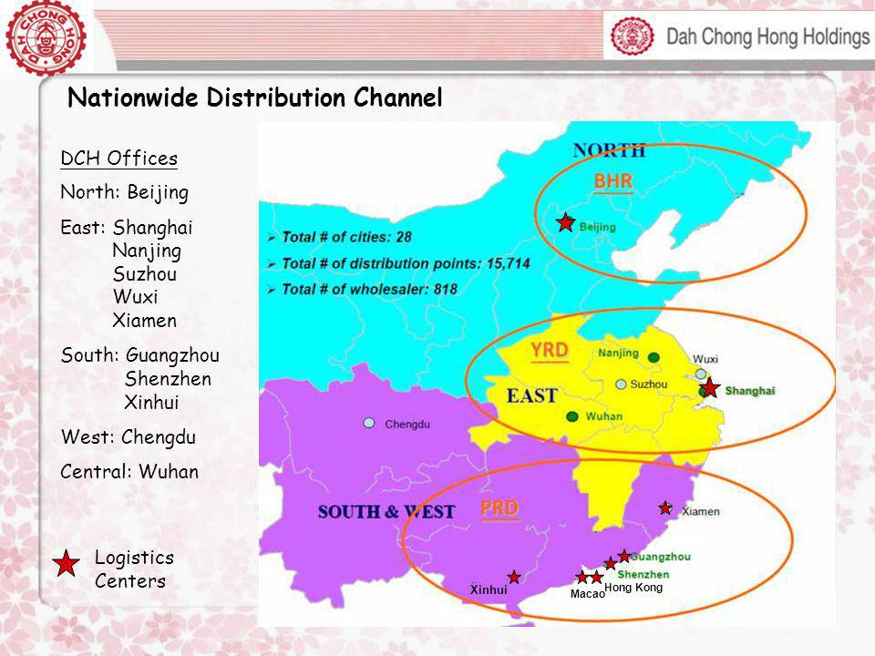 Nationwide Distribution Channel