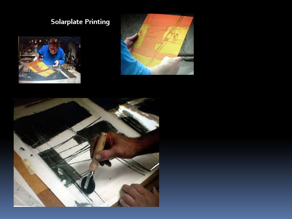 Solarplate Printing