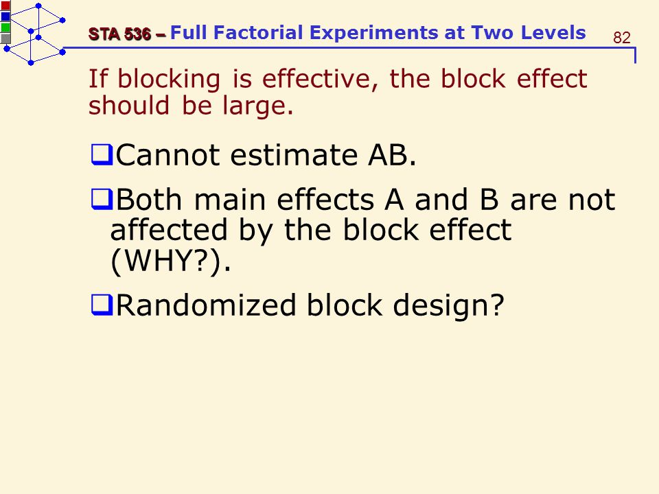 If blocking is effective, the block effect should be large.