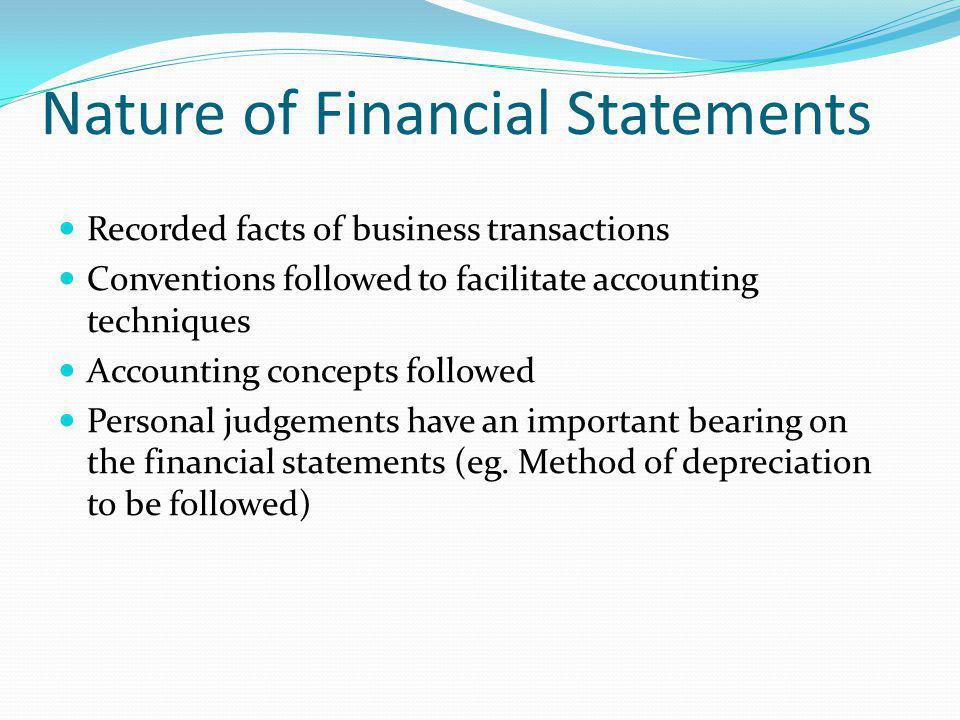 Financial Statements Financial Statement Analysis - Ppt Video