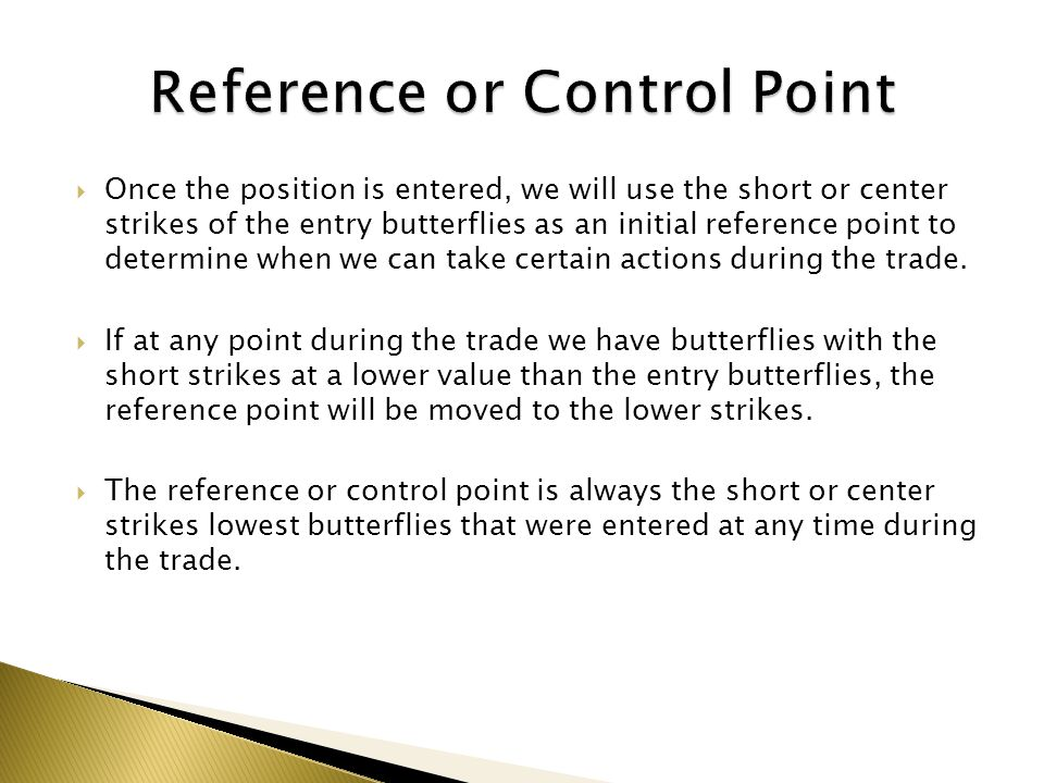 Reference or Control Point