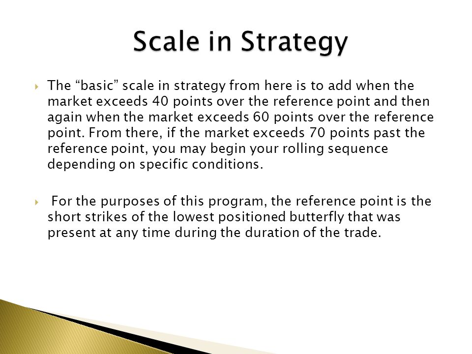 Scale in Strategy