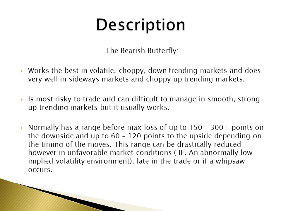 The Bearish Butterfly: