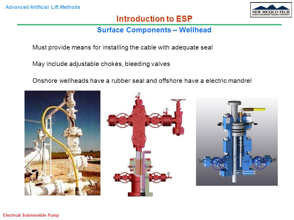 Surface Components – Wellhead
