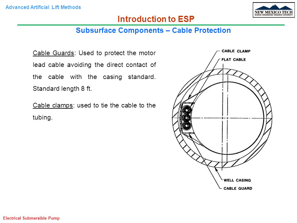 Subsurface Components – Cable Protection