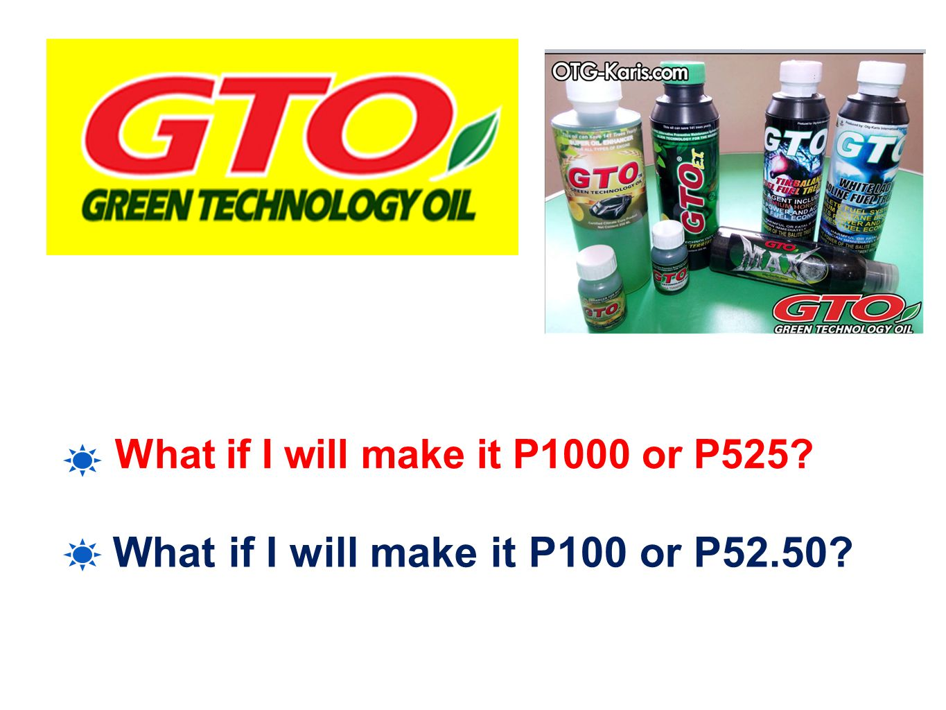 What if I will make it P100 or P52.50