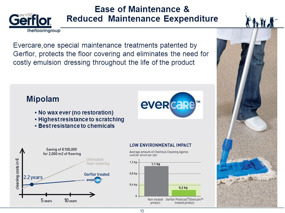 Ease of Maintenance & Reduced Maintenance Eexpenditure