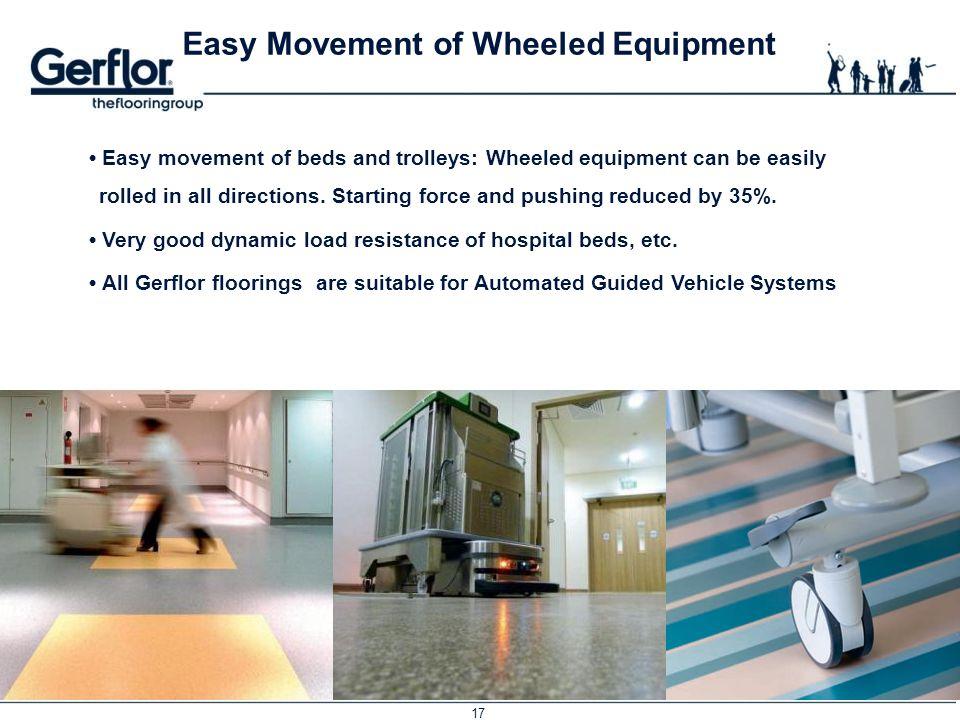 Easy Movement of Wheeled Equipment