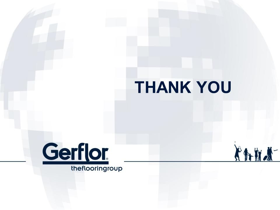 01/04/2017 THANK YOU (c) Gerflor Strictly Confidential