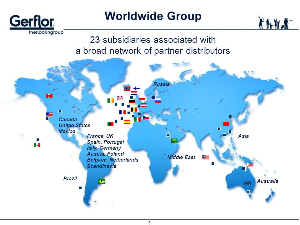 Worldwide Group 23 subsidiaries associated with
