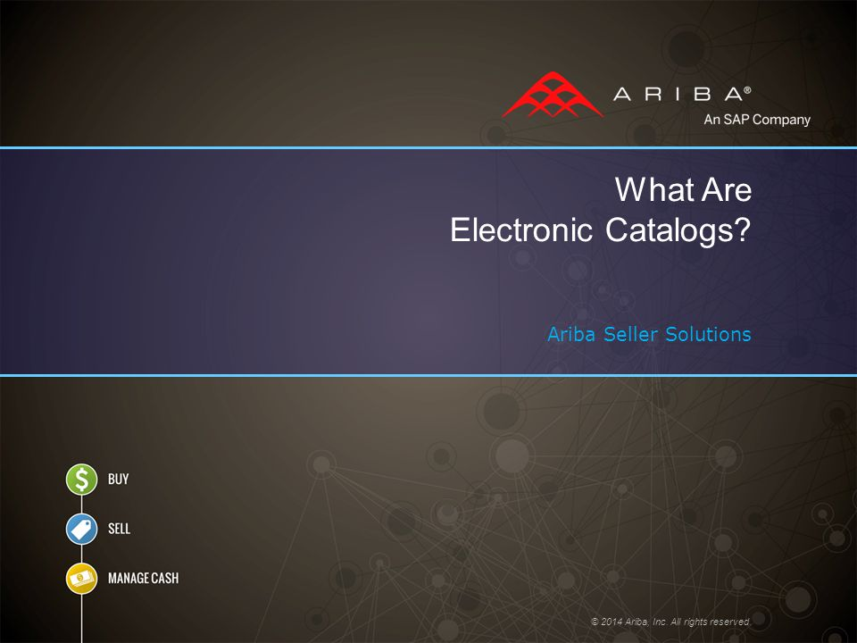What Are Electronic Catalogs