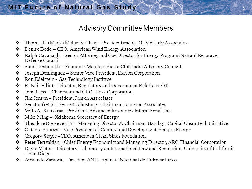 Advisory Committee Members