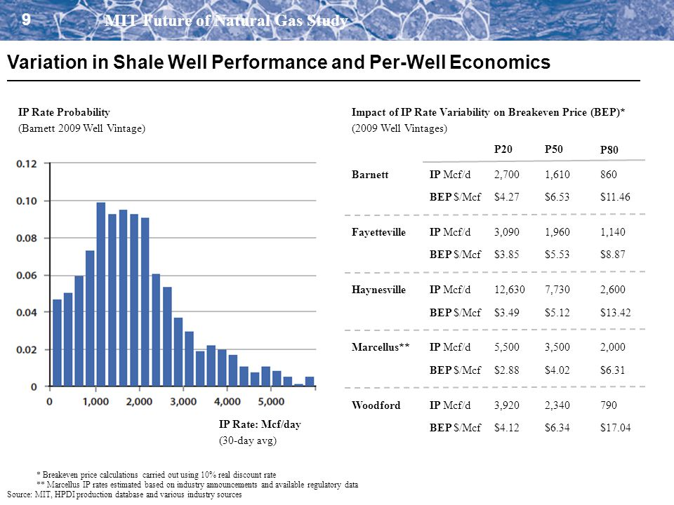 Variation in Shale Well Performance and Per-Well Economics