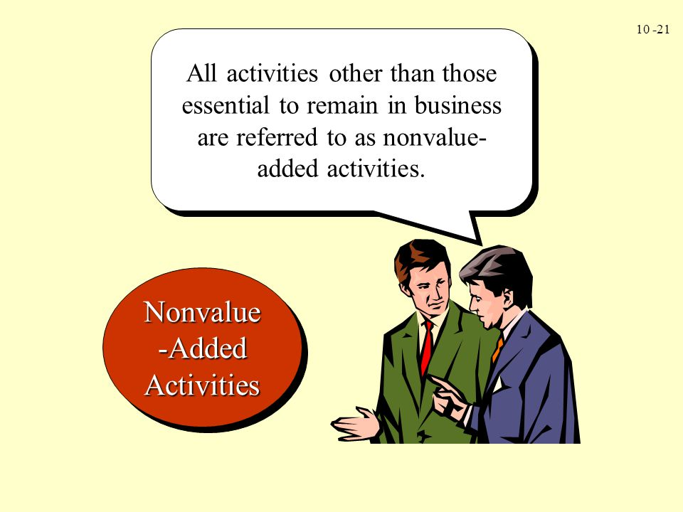 Nonvalue-Added Activities