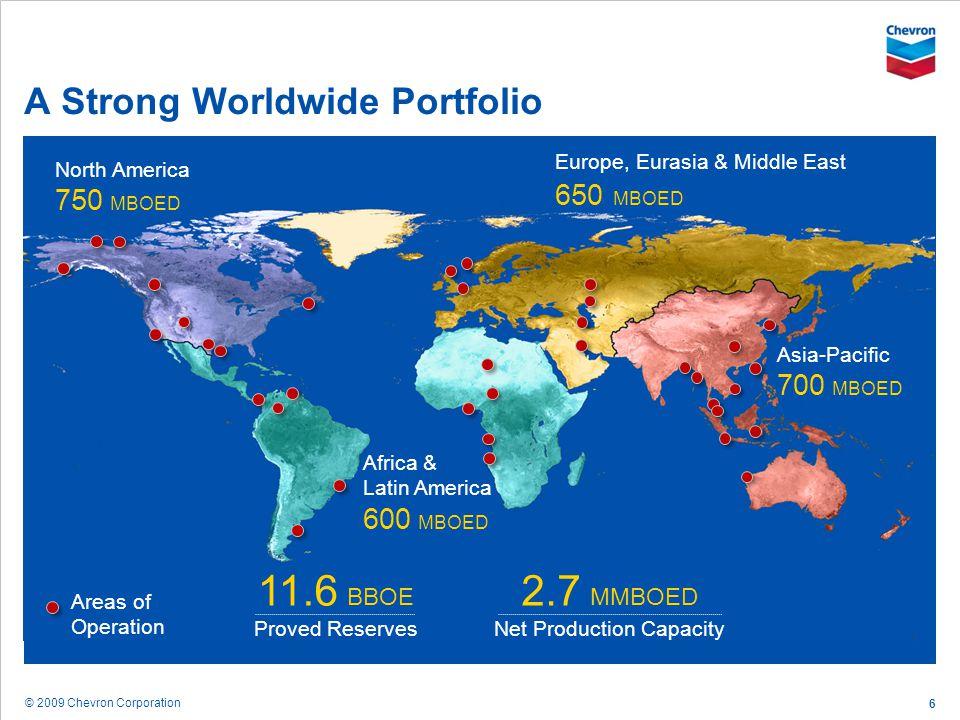 A Strong Worldwide Portfolio
