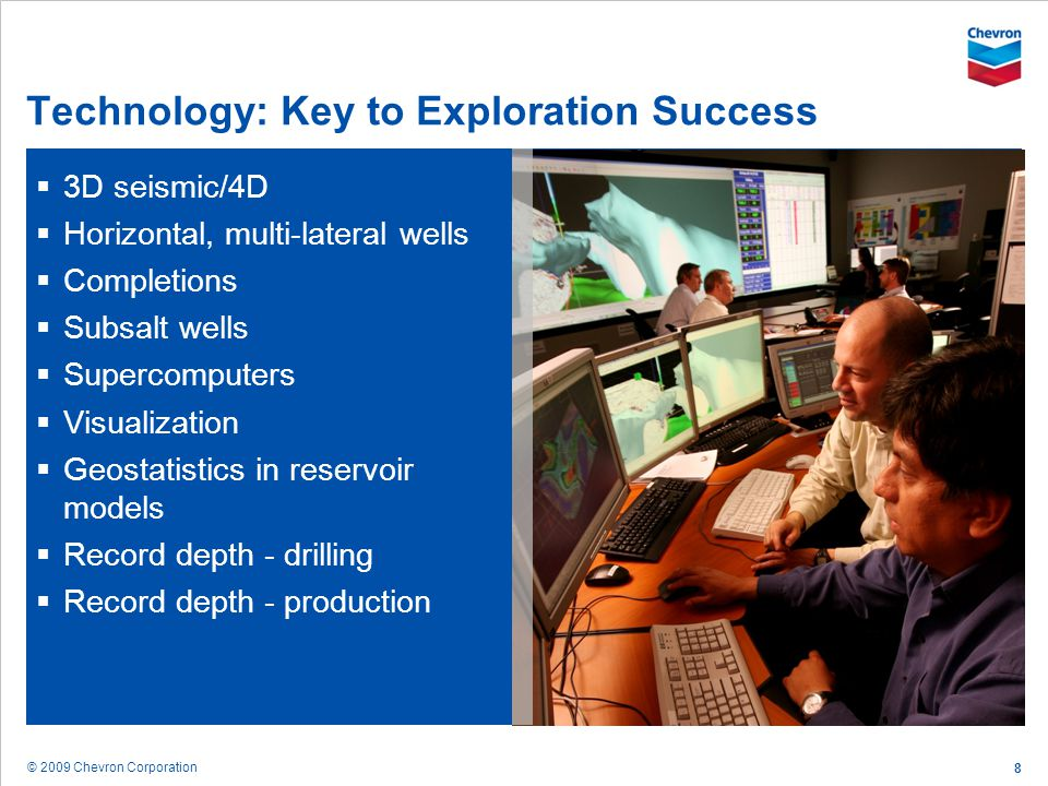 Technology: Key to Exploration Success