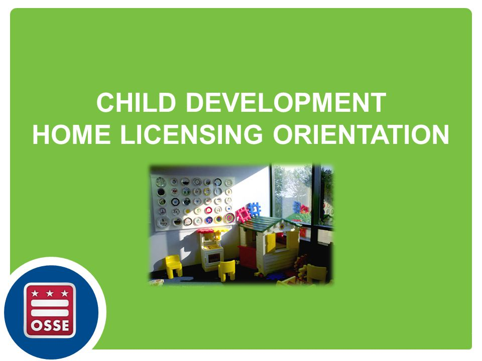 HOME LICENSING ORIENTATION