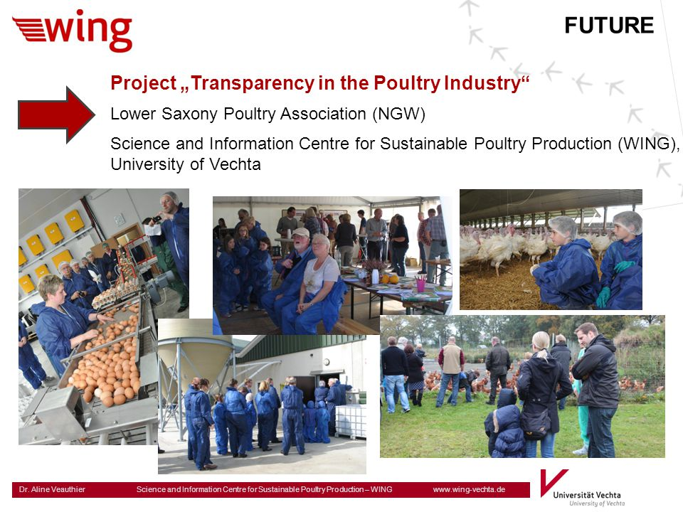 "FUTURE Project ""Transparency in the Poultry Industry"