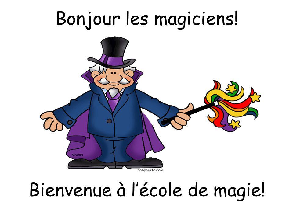 Bienvenue à l'école de magie!
