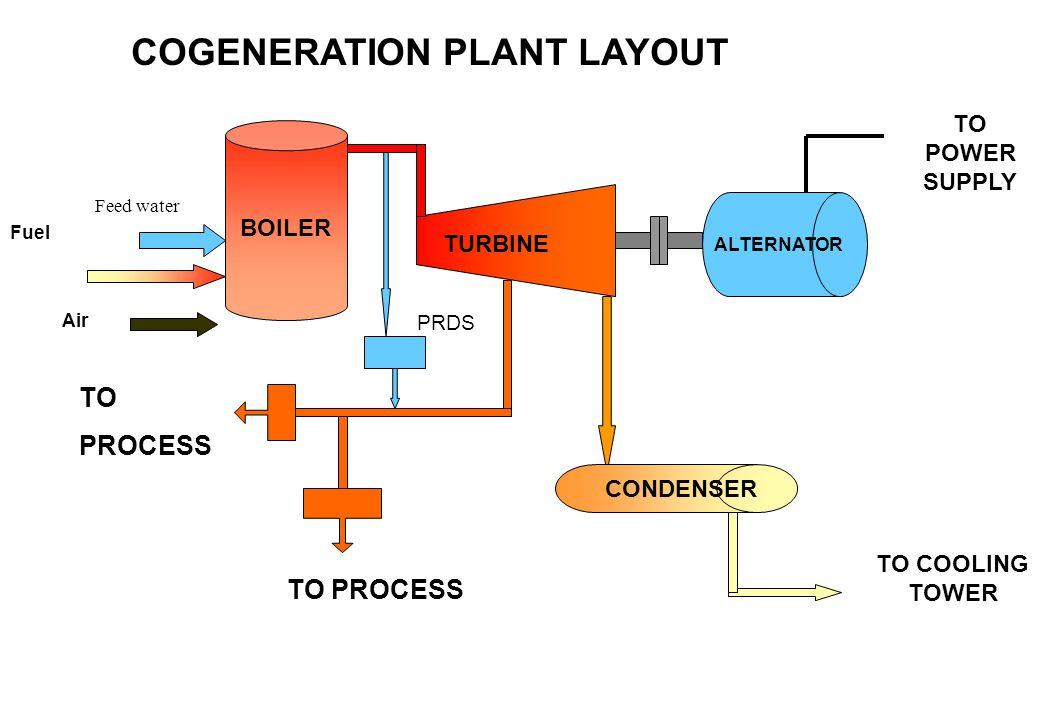 COGENERATION PLANT LAYOUT