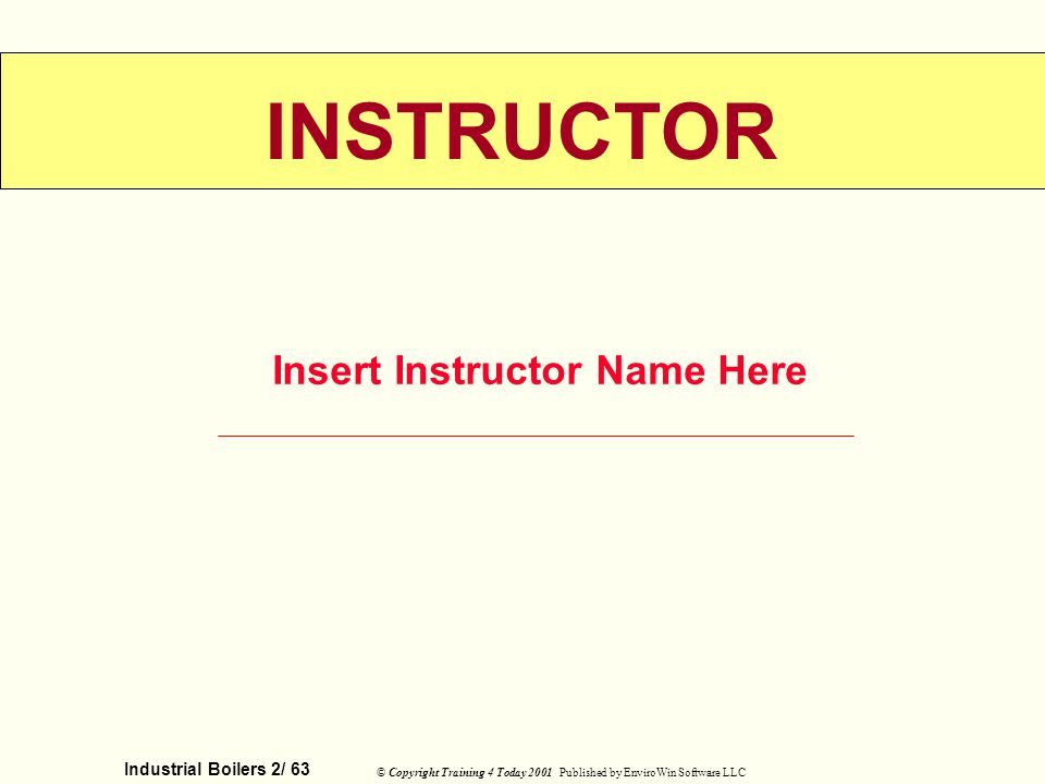 Insert Instructor Name Here