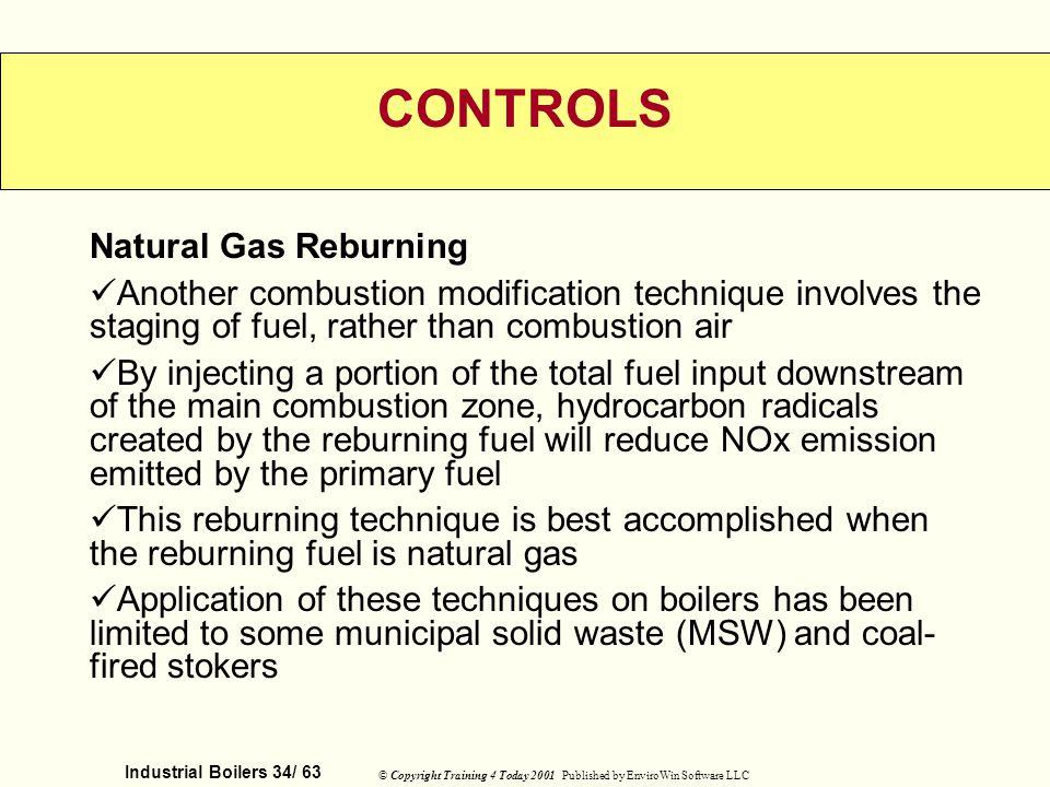 CONTROLS Natural Gas Reburning