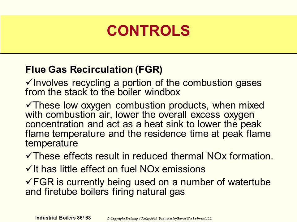 CONTROLS Flue Gas Recirculation (FGR)