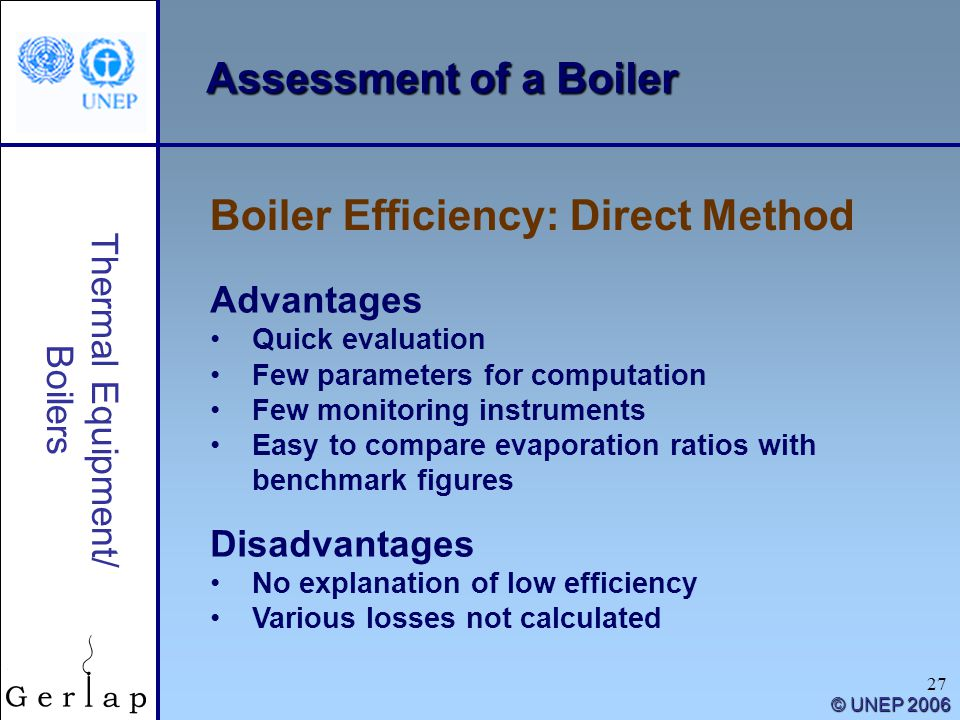 Boiler Efficiency: Direct Method