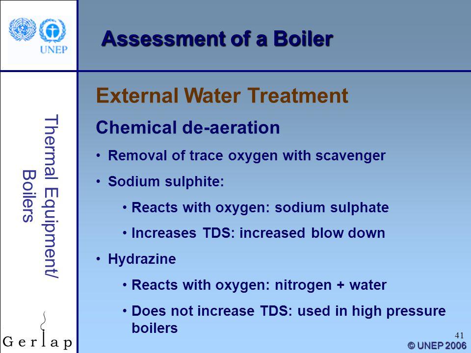 External Water Treatment