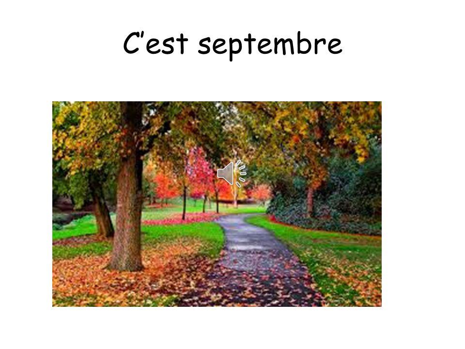 C'est septembre