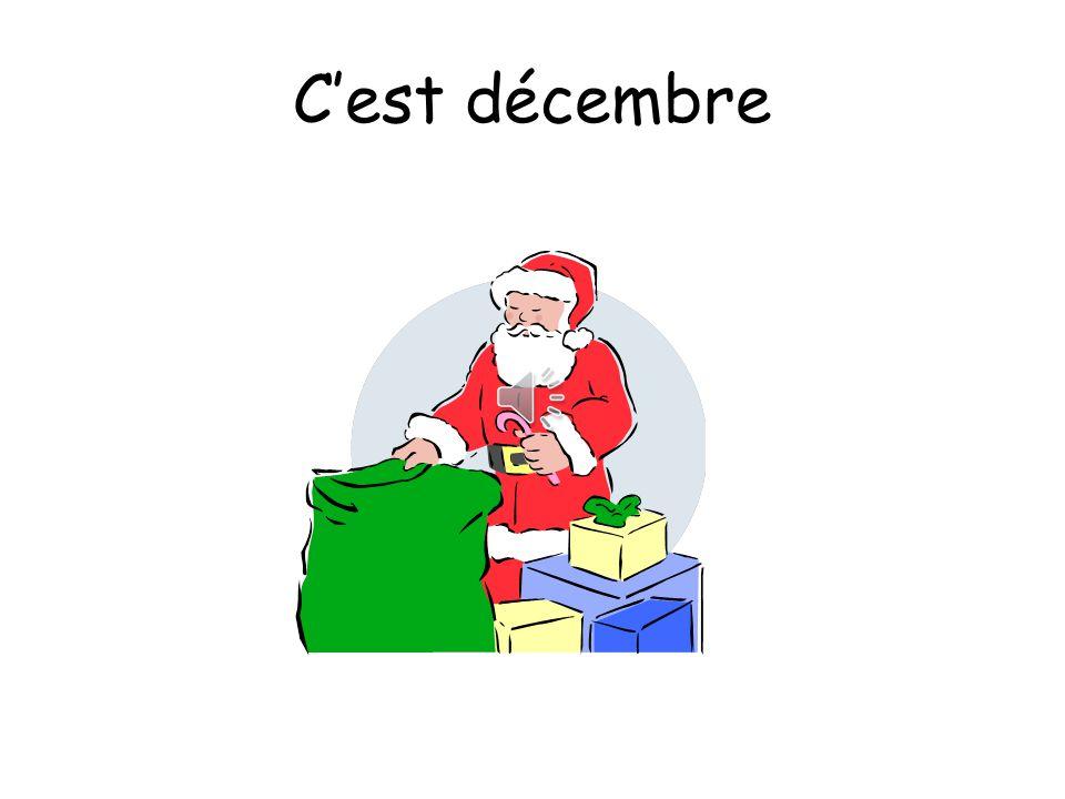 C'est décembre