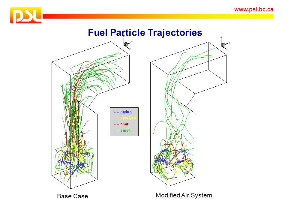 Fuel Particle Trajectories