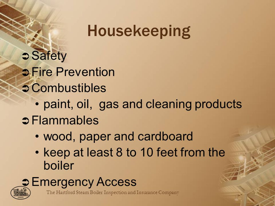 Housekeeping Safety Fire Prevention Combustibles