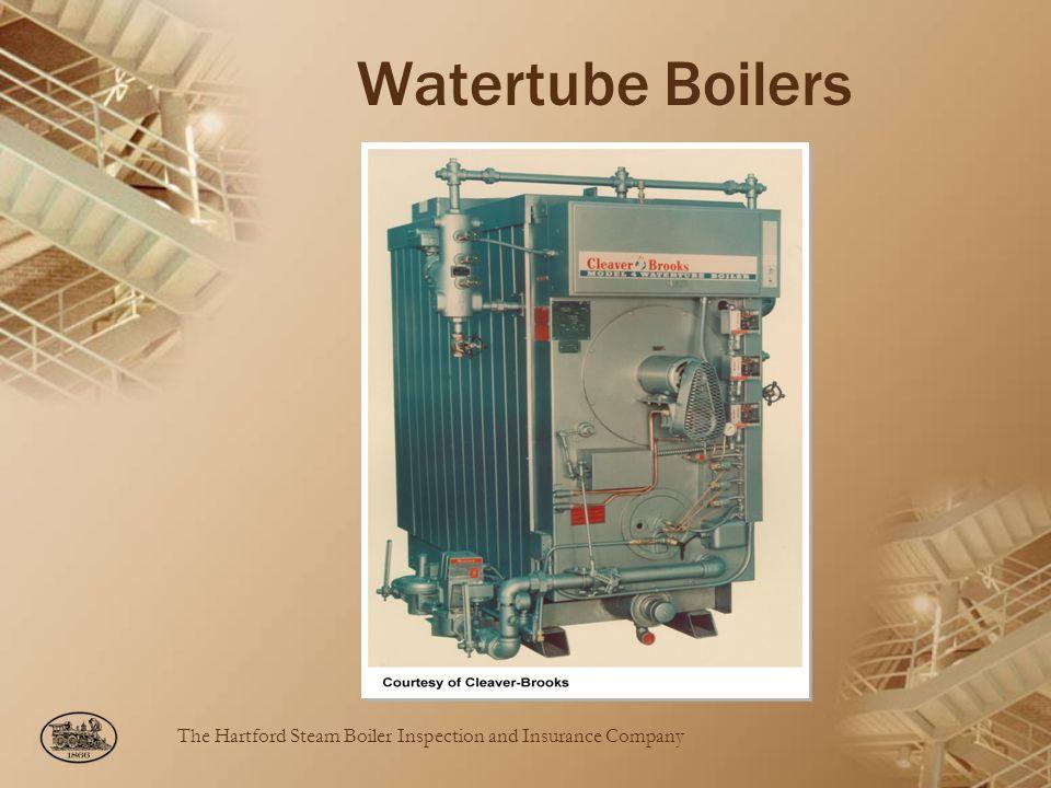 Watertube Boilers C-B Model 4 Watertube boiler.
