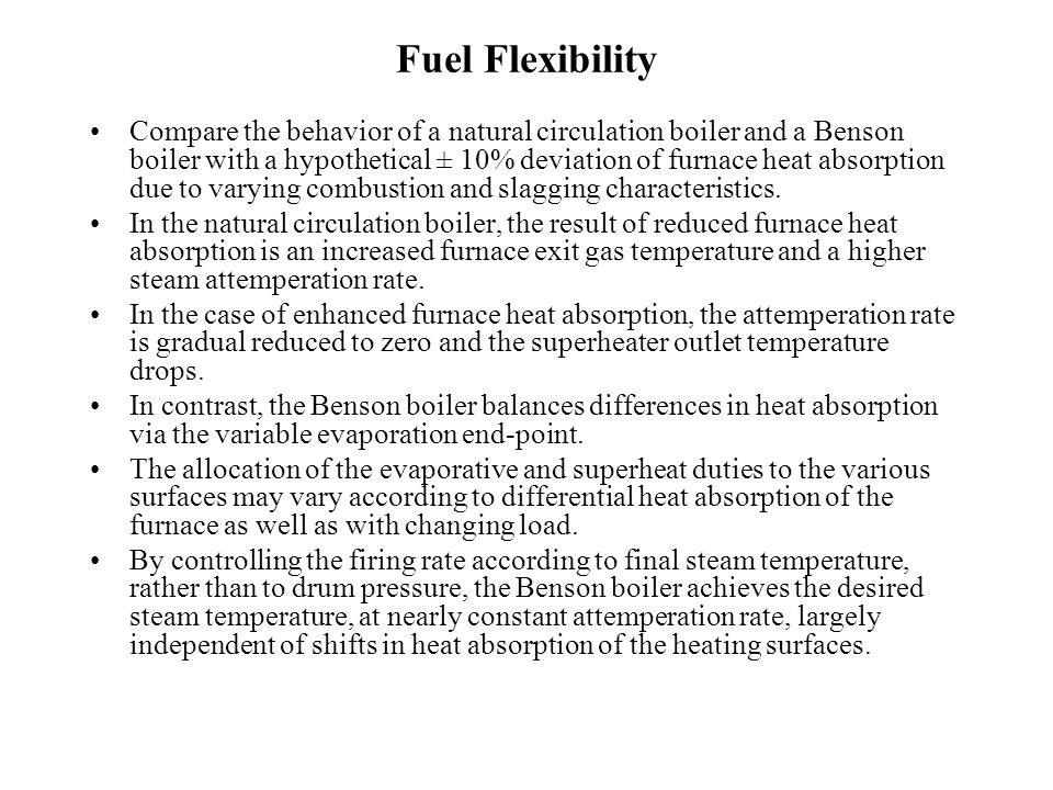 Fuel Flexibility