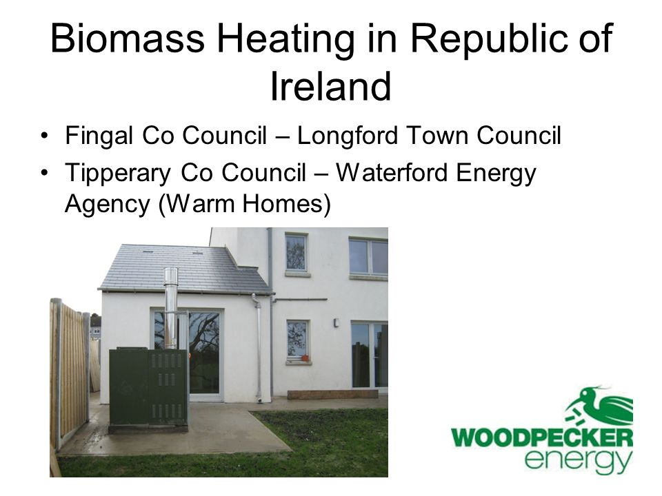 Biomass Heating in Republic of Ireland