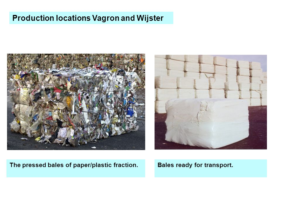 Production locations Vagron and Wijster