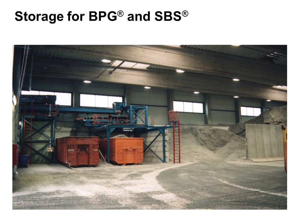 Storage for BPG® and SBS®