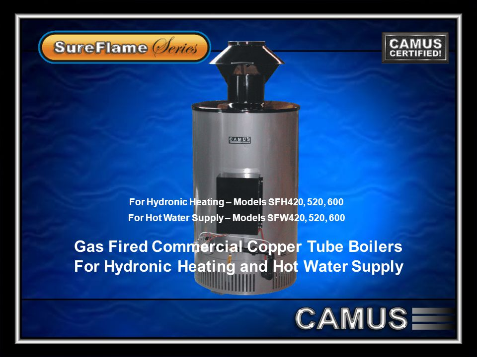 Gas Fired Commercial Copper Tube Boilers