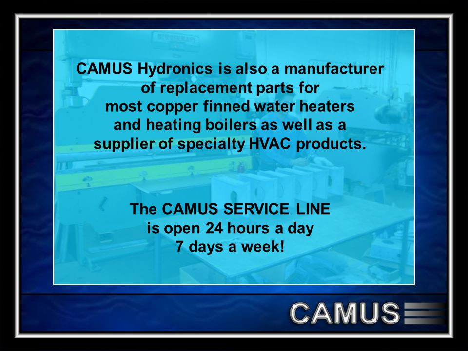 The CAMUS SERVICE LINE is open 24 hours a day 7 days a week!