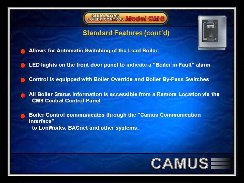 Standard Features (cont'd)