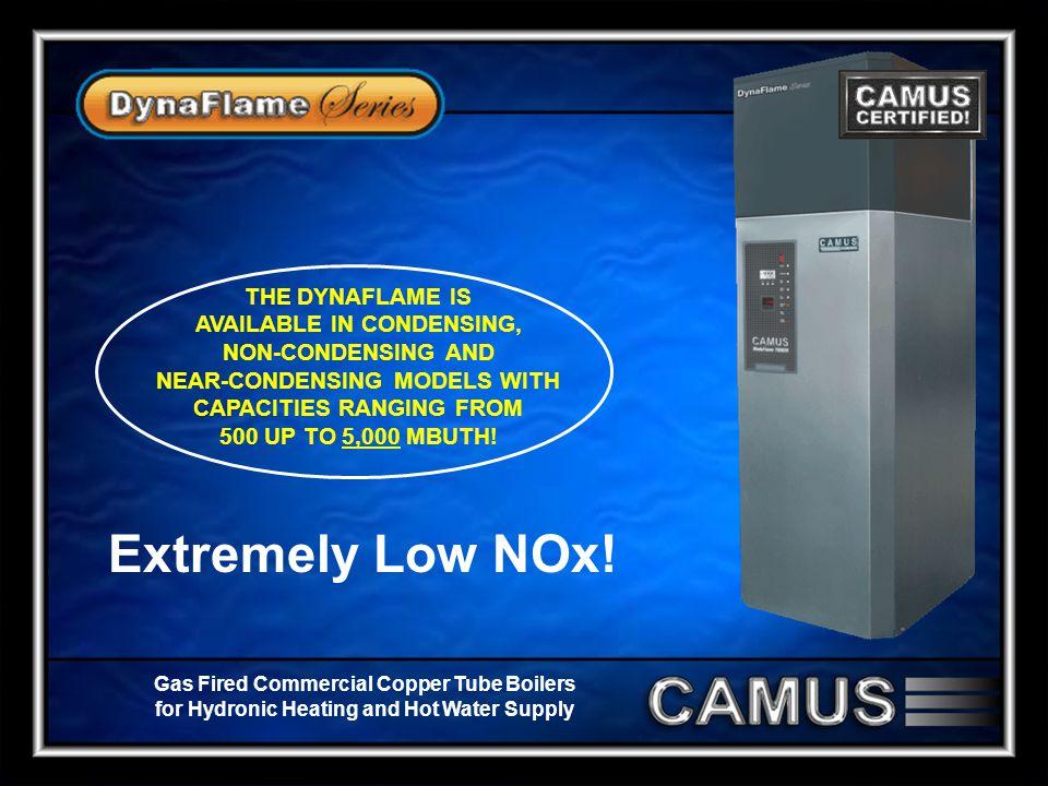 Extremely Low NOx!