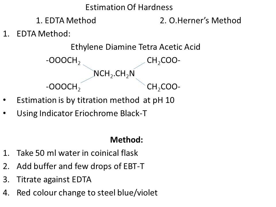 Estimation Of Hardness