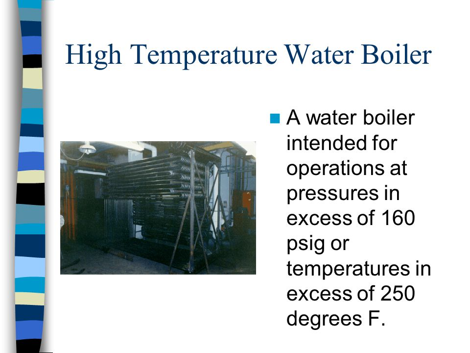 High Temperature Water Boiler