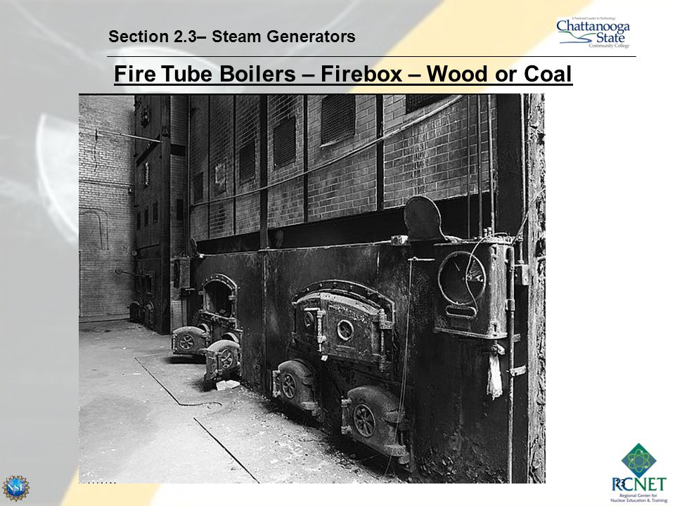 Fire Tube Boilers – Firebox – Wood or Coal