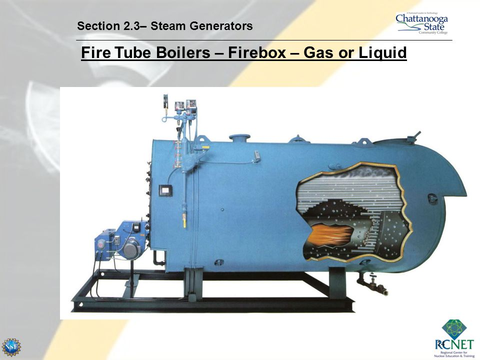 Fire Tube Boilers – Firebox – Gas or Liquid