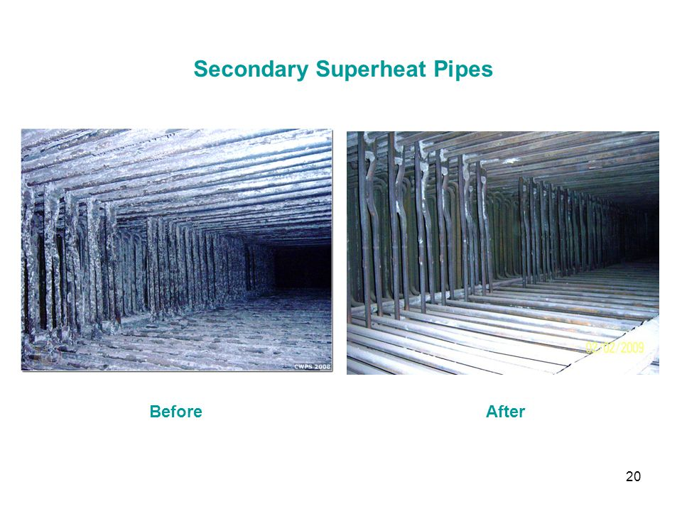 Secondary Superheat Pipes